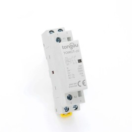 Contador modular de hogar del carril dinar de 2P 20A 2NO CE CB 220V / 230V  TOWCTH-20/2