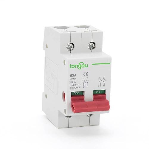 TOD10-100 Interruptor principal con función de seccionador. Interruptor aislante desconectador.