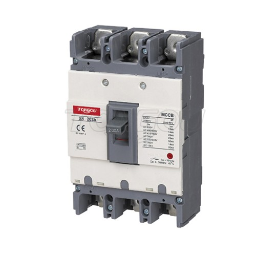 TOS8 6 -1600A ABS MCCB ABN 3P 4P Автоматический выключателем с литым корпусом