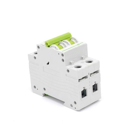 TOMC7-63 2P 50A DC Мини автоматический выключатель для солнечной энергии MCB