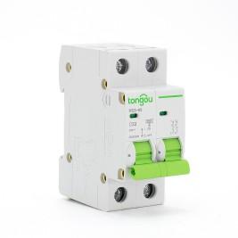 TOMC3-63 3KA Curve C AC Voltage 110v 220v 2P 32A MCB Миниатюрный Автоматический Выключатель