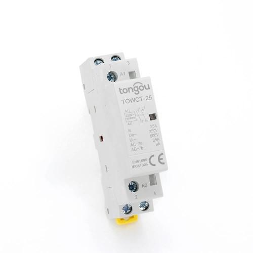 2P 25A 2NO CE CB Din – рейка, Бытовой модульный контактор AC 220V/230V TOWCT-25/2
