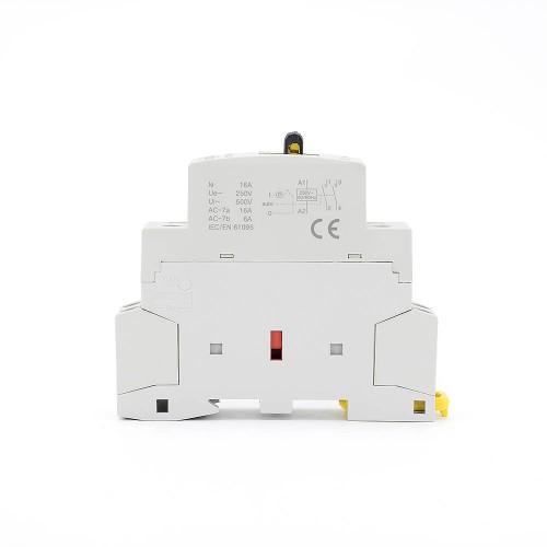 2P 16A 2NO CE CB Din – рейка, Бытовой модульный контактор AC 220V/230V с ручным переключателем TOWCTH-16/2