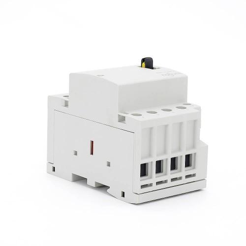 4P 63A 4NO CE CB Din – рейка, Бытовой модульный контактор AC 220V/230V/400V с ручным переключателем TOWCTH-63/4