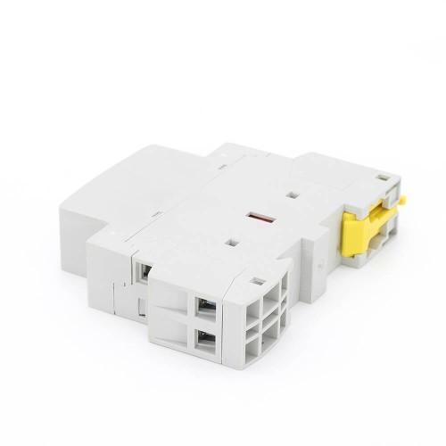 2P 20A 2NO CE CB Din – рейка, Бытовой модульный контактор AC 220V/230V с ручным переключателем TOWCTH-20/2
