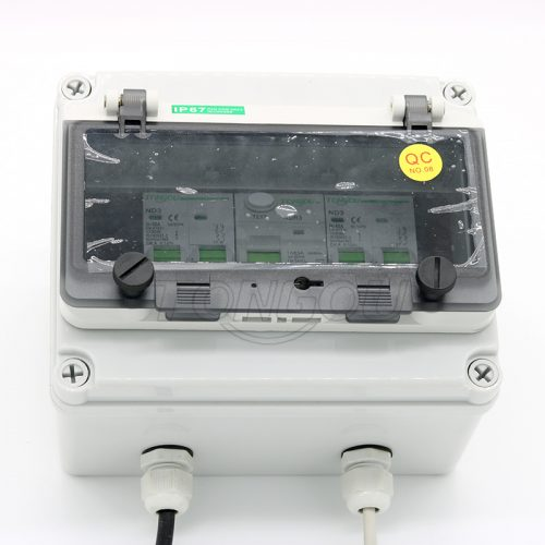 TOU1-63 IP67 Water Proof Power Distribution Consumer Unit