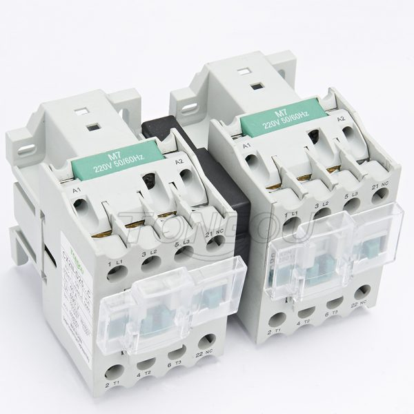 TOC2XN-MI 25A AC 380V Mechanical Interlocking Contactor