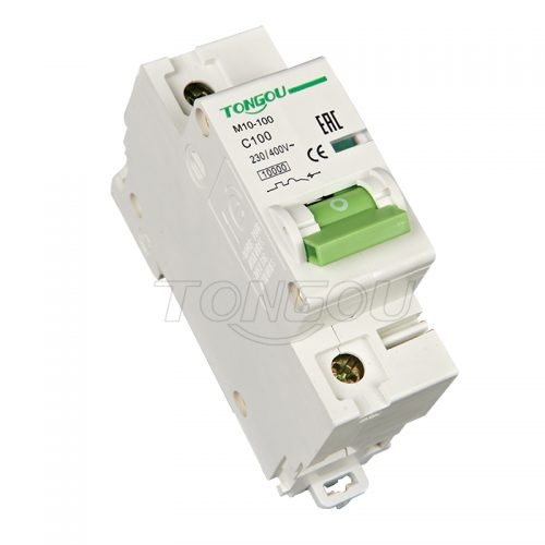 TOM10-100 1P 2P 3P 4P 80A 100A MCB 125A Miniature Circuit Breaker Main switch