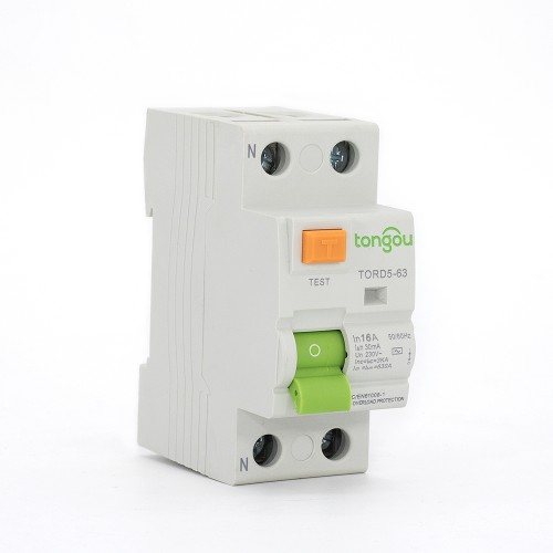 TORD5-63 2P 16A 30mA A/AC Type Residual Current Circuit Breaker RCCB RCD