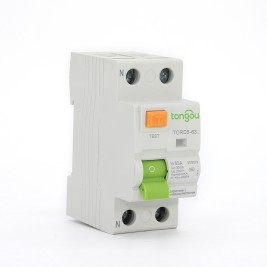 TORD5-63 2P 63A 30mA A/AC Type Residual Current Circuit Breaker RCCB