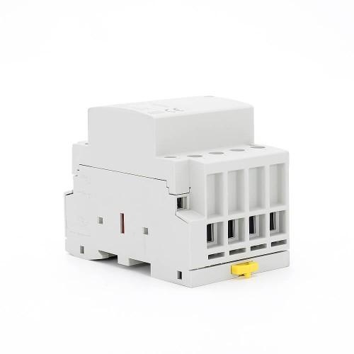 4P 32A 4NO CE CB Din Rail Household Modular Contactor AC 220V/230V/400V TOWCT-32/4