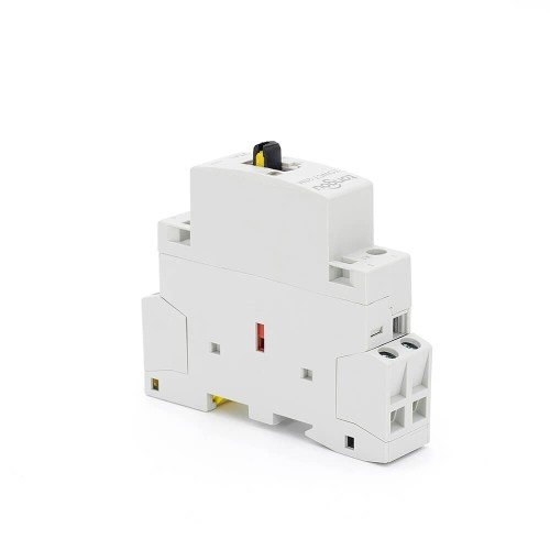 2P 20A 2NO CE CB Din Rail Household Modular Contactor AC 220V/230V With Manual Control Switch TOWCTH-20/2