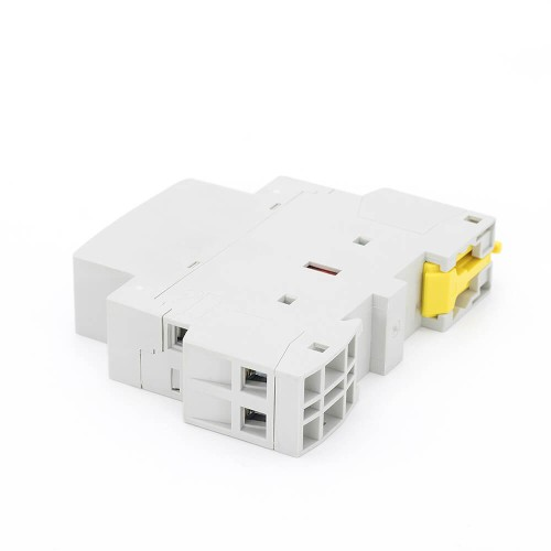 2P 25A 2NO CE CB Din Rail Household Modular Contactor AC 220V/230V With Manual Control Switch TOWCTH-25/2
