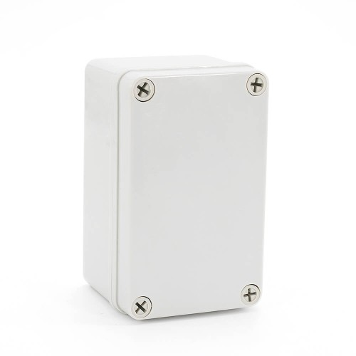 IP67 130*80*70 mm Waterproof Electrical Plastic Junction Box ABS TOM3-130807