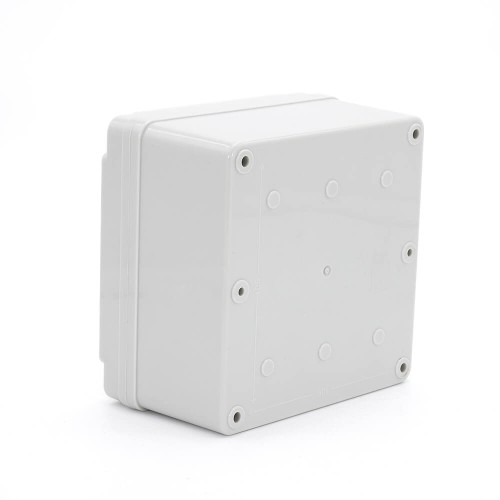 IP67 125*125*75 mm Waterproof Electrical Plastic Junction Box ABS TOM3-121207