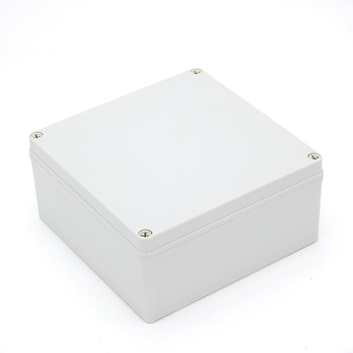 IP67 200*200*130 mm Waterproof Electrical Plastic Junction Box ABS M3-202013