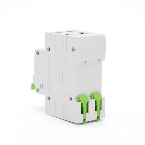 TOMC5-63 3KA 110V 220V Curve C 2P 40A Mini Circuit Breaker MCB