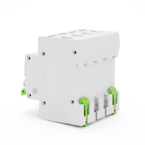 TOMC5-63 3KA 110V 220V Curve C 4P 16A Mini Circuit Breaker MCB
