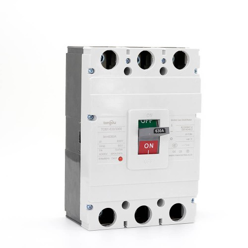 TOS1 630A 3 Pole MCCB Moulded Case Circuit Breaker