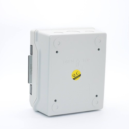 6 Ways IP66 PC Waterproof Distribution Box Switch Box Breaker Box