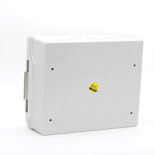 12 Ways IP66 PC Waterproof Distribution Box Switch Box Breaker Box