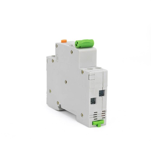 RCBO 1P+N 6KA 18mm 6A-32A 30mA Residual Current Circuit Breaker With Overcurrent Protection TOBN1-32