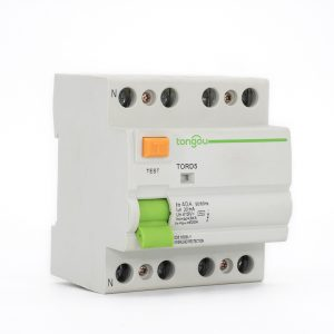 TORD5-63 4P 40A 30mA Electromagnetic Type Residual Current Circuit Breaker RCCB RCD