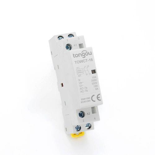 632P 16A 2NO CE CB Din Rail Household Modular Contactor AC 220V/230V