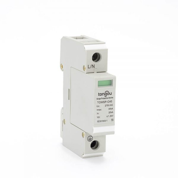 11SPD AC 1P 20KA~40KA C ~275V House Surge Protector Protection Protective Low-voltage Arrester Device