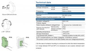 2P 16A 2NO CE CB Din Rail Household Modular Contactor AC 220V/230V