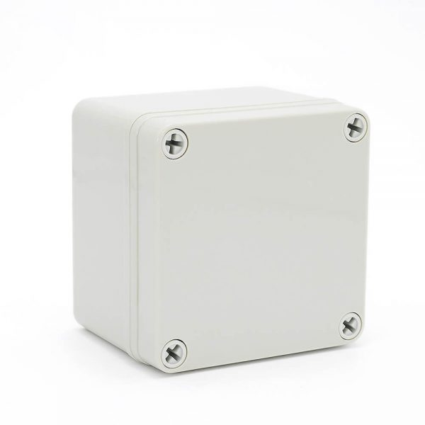 IP67 100*100*75 mm Waterproof Electrical Plastic Junction Box ABS TOM3-101007