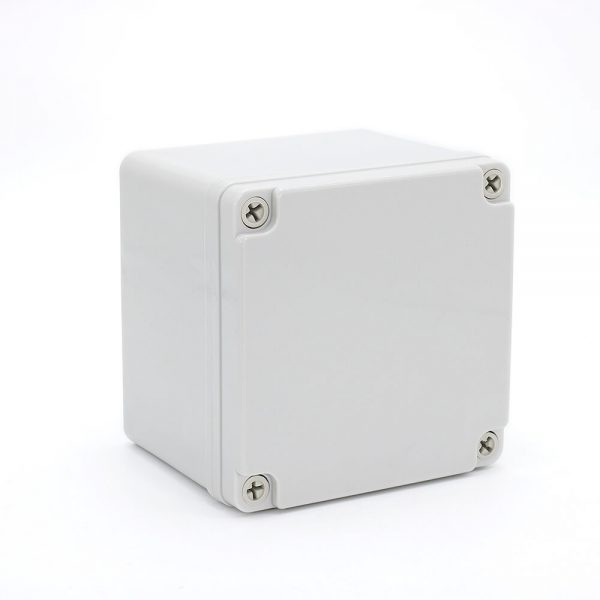 IP67 125*125*100 mm Waterproof Electrical Plastic Junction Box ABS TOM3-121210