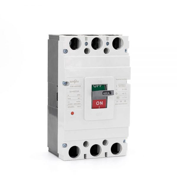 TOS1 400A 3 Pole MCCB Moulded Case Circuit Breaker9