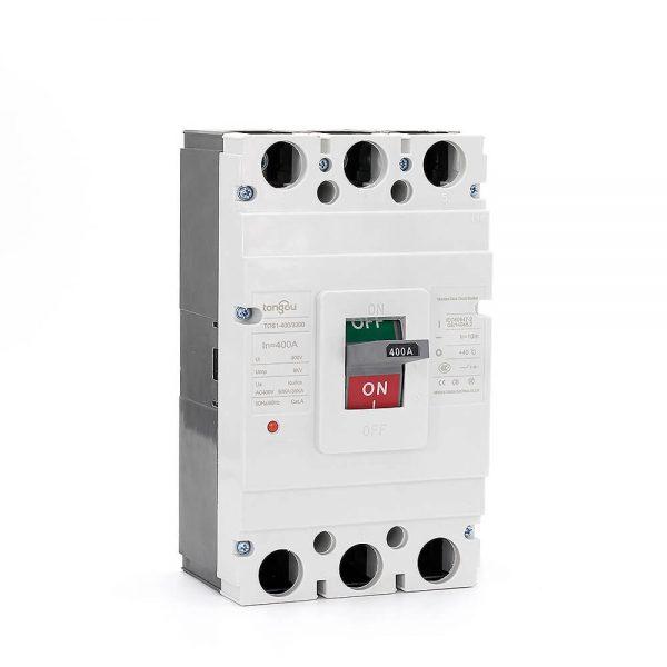 TOS1 400A 3 Pole MCCB Moulded Case Circuit Breaker9