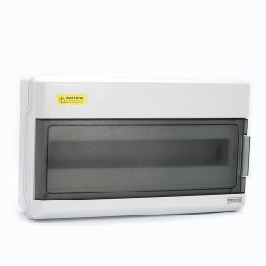 18 Ways IP66 PC Waterproof Distribution Box Switch Box Breaker Box